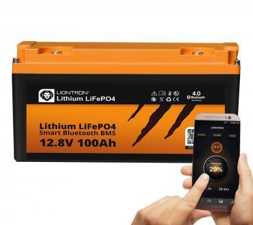 Liontron Lithium Batterie LiFePO4 Smart BMS 12,8V 100Ah
